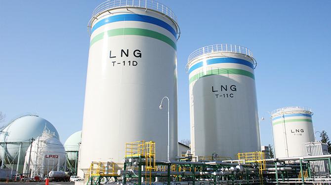 都市ガス(天然ガス)  の製造・供給・販売