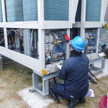 空調機器事業 / 空調機器のメンテナンス